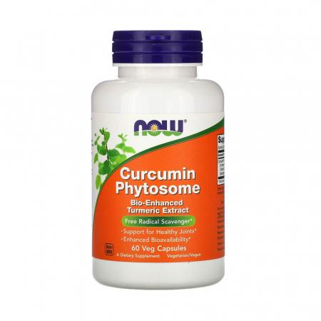 Curcumin BIO Phytosome, 500mg, Now Foods, 60 capsule0