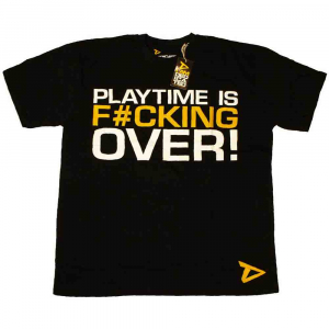 Tricou Playtime is over, Dedicated1