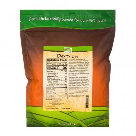 Dextrose (Dextroza), Now Foods, 907g1