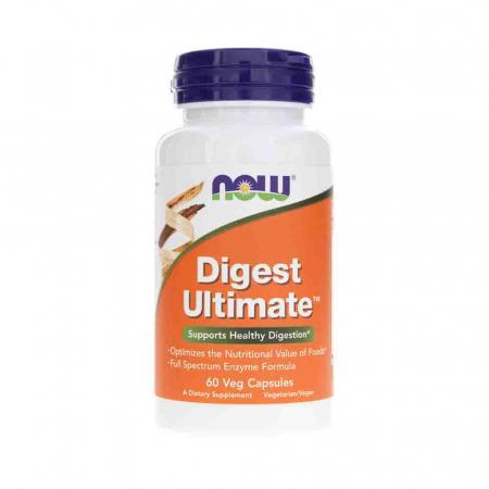 Digest Ultimate (Enzime cu Spectru Complet), Now Foods, 60 capsule0