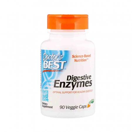 Digestive Enzymes (Enzime Digestive), Doctor's Best, 90 capsule0
