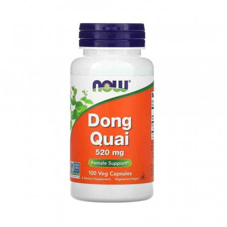 Dong Quai Organic (Angelica Sinesis) 520mg, Now Foods, 100 capsule0