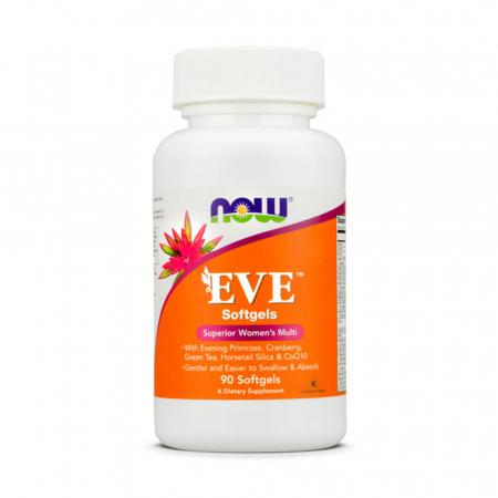 Eve, (Multivitamine Femei) Superior Women's Multi, Now Foods, 90 softgels0
