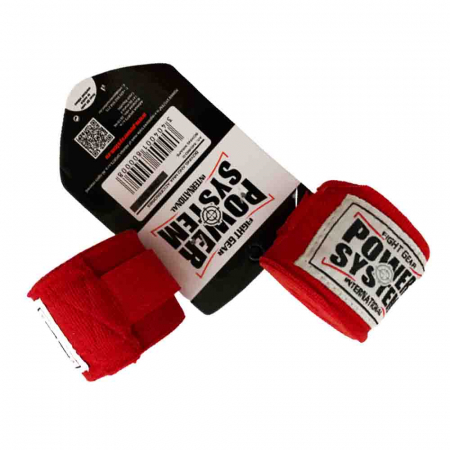 Fasa Elastica BOXING WRAPS, Power System, 2x4m Cod: 34043