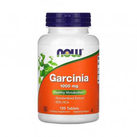 Garcinia (Cambogia), 1000mg, Now Foods, 120 tablete0