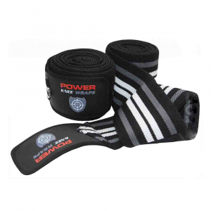 Bandaje pentru genunchi Knee Wraps, Power System, Cod: 37000