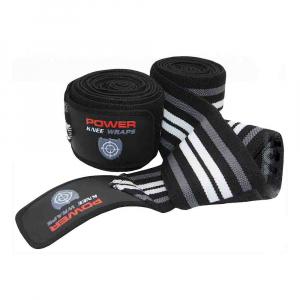 Bandaje pentru genunchi Knee Wraps, Power System, Cod: 3700
