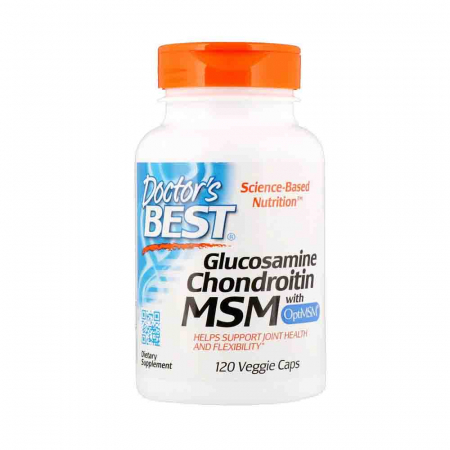 Glucosamine Chondroitin MSM with OptiMSM, Doctor's Best0
