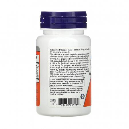 Glutathione (Glutation) 500 mg, Now Foods, 30 capsule1
