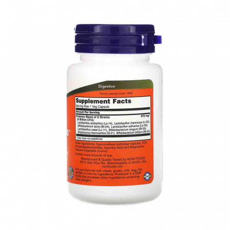 Gr8-Dophilus, Now Foods, 60 capsule2