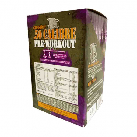 Grenade 50 Calibre Preloaded Sticks, Grenade, 25x23.2g1