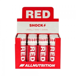 Red Shock Shot Pre-workout, All Nutrition, 12x80ml0