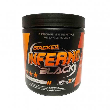 Inferno Black Pre-Workout, Stacker2, 300g3