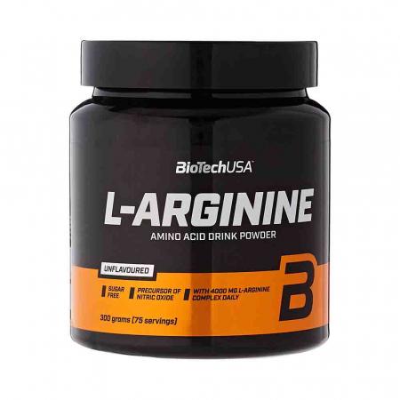L-Arginine (Arginina), BiotechUSA, 300g3