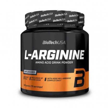 L-Arginine (Arginina), BiotechUSA, 300g0