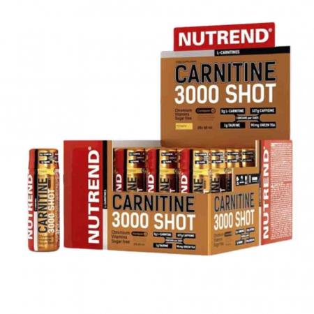 L-Carnitina 3000 Shot, Nutrend, 20x60ml0