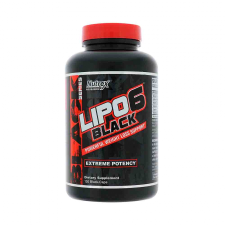 Lipo 6 Black Yohimbine, Nutrex Reserch, 120 caps USA0