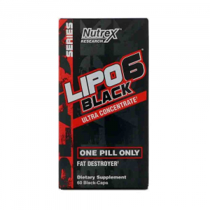 Lipo-6 Black Ultra Concentrate, Nutrex Research, 60 capsule