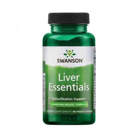 Liver Essentials (Esentiale Ficat), Swanson, 90 capsule