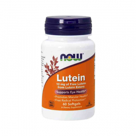 Lutein, Luteina 10mg, Now Foods0