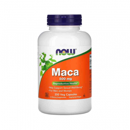 MACA, 500mg, Now Foods0