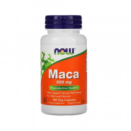 MACA, 500mg, Now Foods, 100 capsule0