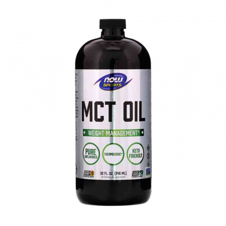 MCT Oil Pure Unflavored, Now Foods0
