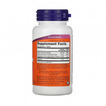 Melatonin (Melatonina) 1 mg, Now Foods, 100 tablete2
