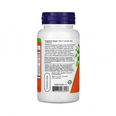Menopause Support, Now Foods, 90 capsule1