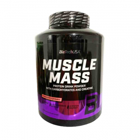 Muscle Mass Gainer, BiotechUSA, 2270g3