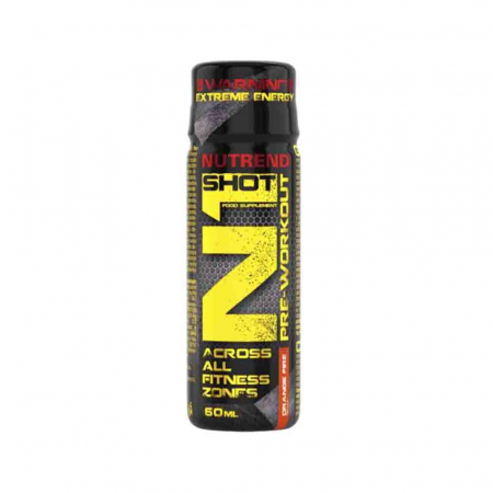 N1 Pre-Workout Shot, Nutrend, 20x60ml2
