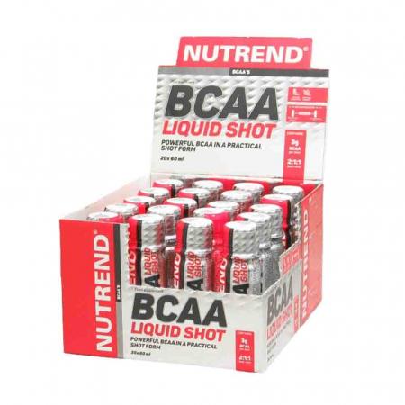 BCAAMega Shot, Nutrend, 20x60ml4