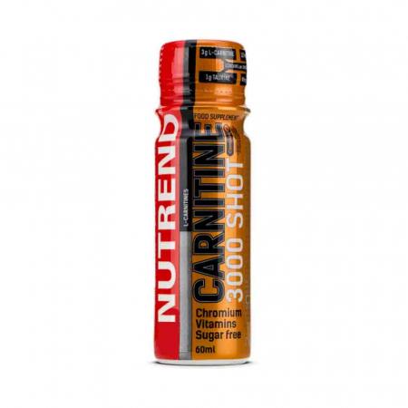L-Carnitina 3000 Shot, Nutrend, 20x60ml2