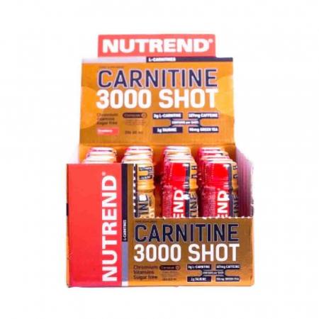 L-Carnitina 3000 Shot, Nutrend, 20x60ml1