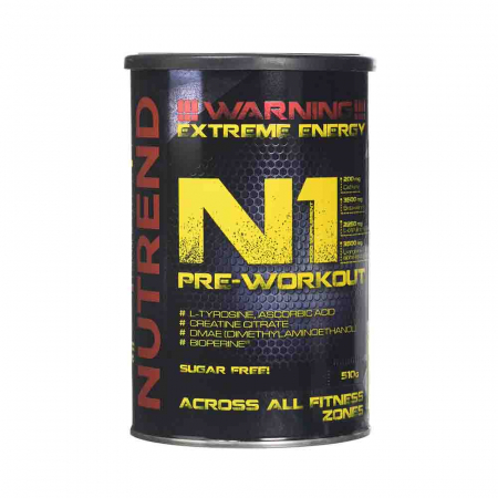 N1 Pre-Workout, Nutrend, 510g0