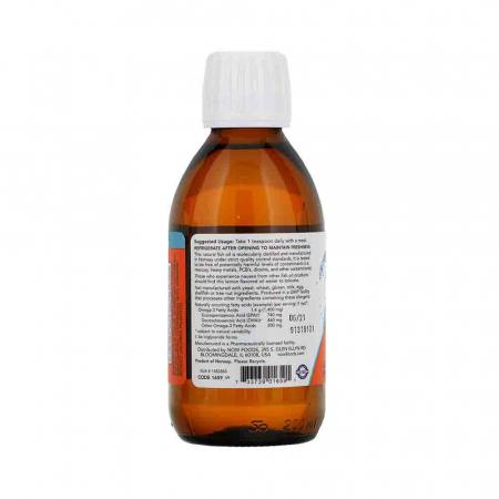 Omega 3 Lichid (Fish Oil Liquid), Now Foods, 200 ml1