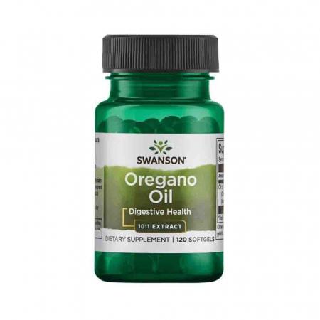 Oregano Oil 10:1 Extract, 150mg, Swanson, 120 softgels