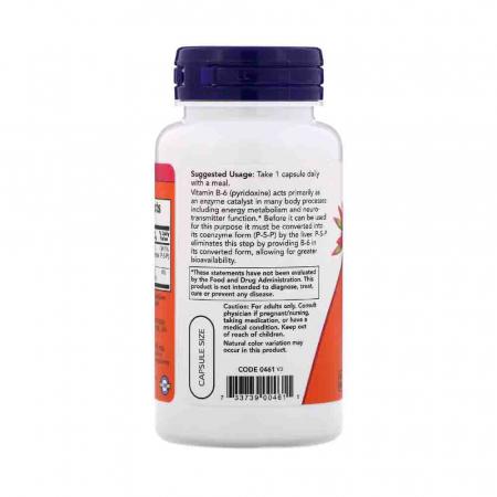 P-5-P, (Pyridoxal 5 Phosphate), 50mg, Now Foods, 90 capsule1
