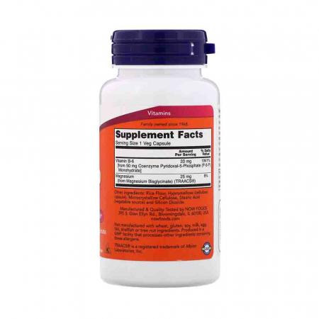 P-5-P, (Pyridoxal 5 Phosphate), 50mg, Now Foods, 90 capsule2