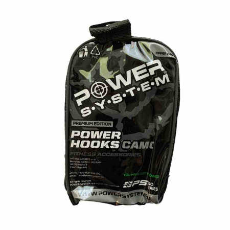 Chingi cu carlig metalic Power Hooks Camo, Power System, Cod: 33702