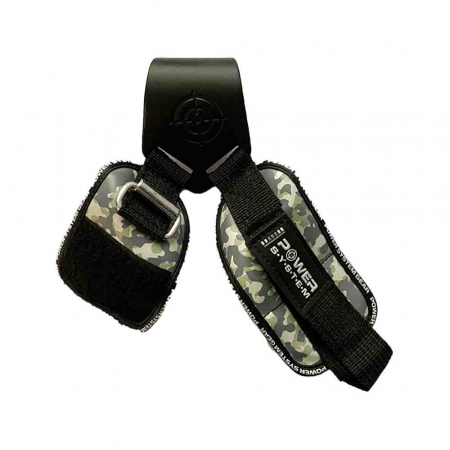 Chingi cu carlig metalic Power Hooks Camo, Power System, Cod: 33705