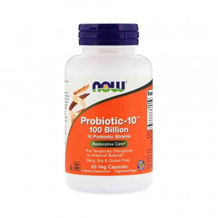 Probiotic-10 (Probiotice), 100 Billion, Now Foods0