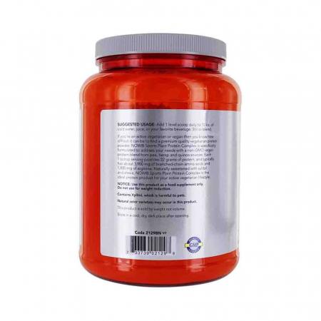 Complex de Proteine din Plante, Plant Protein, Now Foods, 907g1