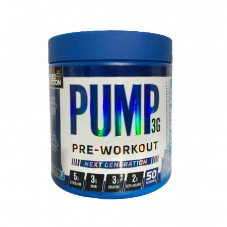Pump 3G Pre-Workout, Applied Nutrition, 375g3