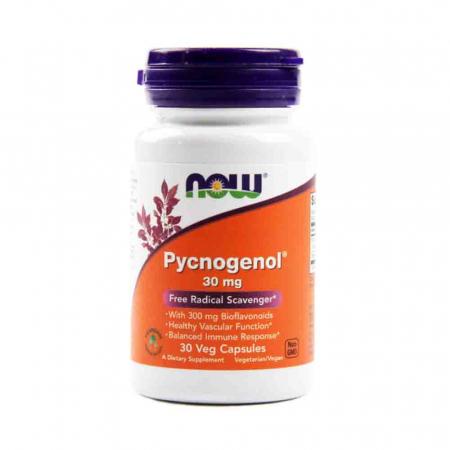 Pycnogenol (Pinus Pinaster) 30mg, Now Foods, 30 capsule0
