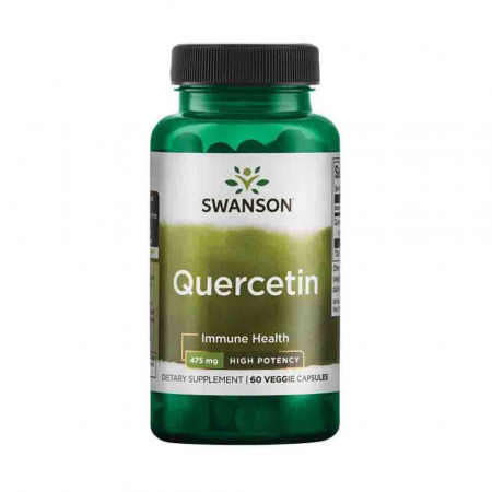 Quercetin High Potency, 475mg, Swanson, 60 capsule