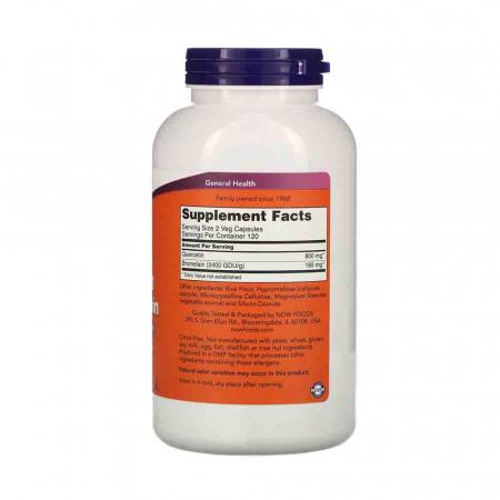 Quercetin cu Bromelaina (Antioxidant), Now Foods, 240 capsule1