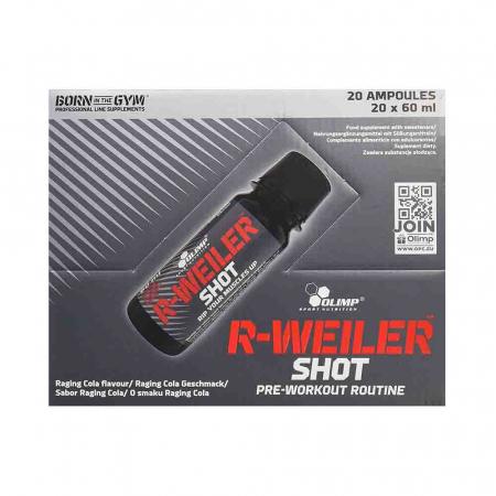 R-Weiler Shot Pre-Workout, Olimp Sport Nutrition, 20x60ml2