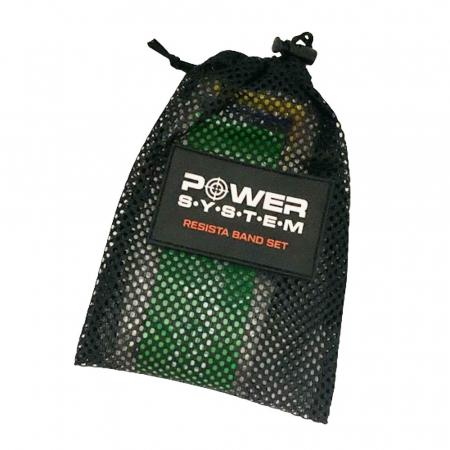 Set de benzi elastice mini RESISTA BAND, Power System, Cod: 40961