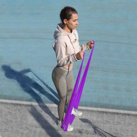 Set Benzi elastice, Resistance Band Set, Power System, Cod: 400710